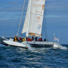 Maxi-catamaran de course Explorer