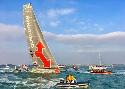Naviguez sur un voilier du Vendée Globe, l'imoca de 60 pieds ex-Queguiner et ex-Safran