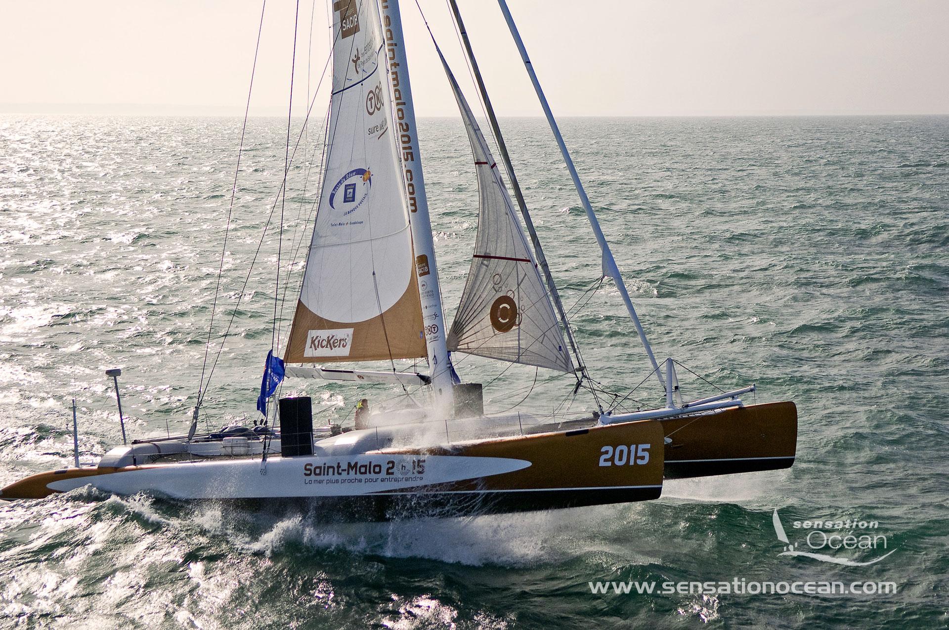 Fonds D Ecran Trimaran Orma Monocoque Imoca Et Maxi Catamaran Sensation Ocean