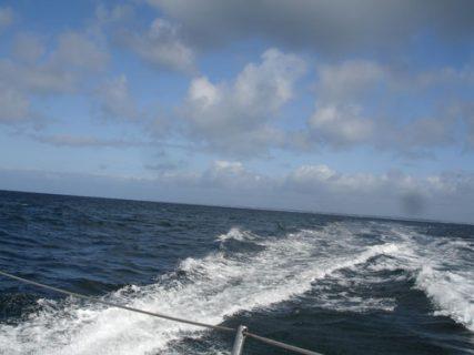 A bord du trimaran ORMA Sensations - 11 mai 2013
