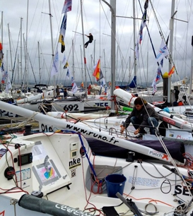 Aymeric Belloir Mini Transat CP 11 nov