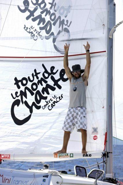 Aymeric Belloir, vainqueur de la mini transta 2013