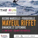 Mayeul Riffet s'élance en Kitesurf sur The Run
