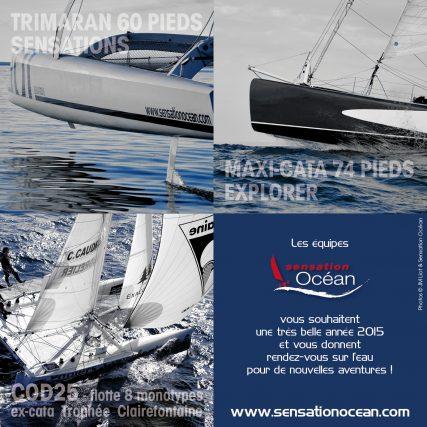 Trimaran 60 pieds, maxi-catamaran 74 pieds & catamarans 25 pieds monotypes COD 25