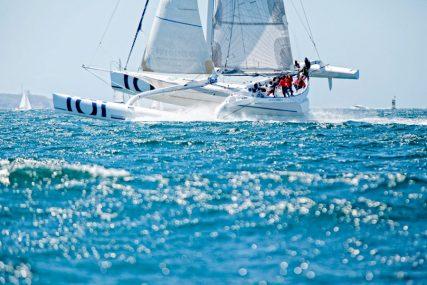 Trimaran Sensation Océan en navigation au large de Groix - © Sealaunay